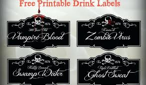 Vending Machine Labels Printable Adorable Free Printable Halloween Drink Labels Hallowenorg