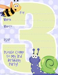 free birthday invitation template for kids free birthday invites gangcraft net