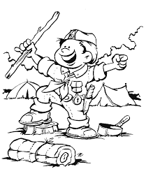 Small Picture Elegant Cub Scout Coloring Pages 56 For Coloring For Kids With Cub