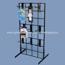 china wire grid wall counter top display rack