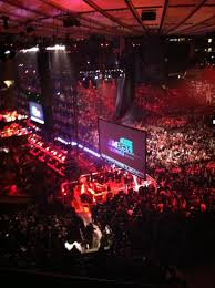 Msg Jingle Ball Seating Chart The Script Front Row Or Die
