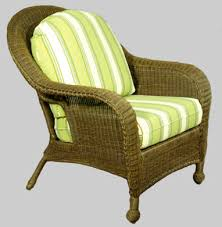 Stylish Wicker Outdoor Seat Cushions Wicker Chair Cushions In