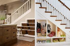 Bespoke custom storage solutions for under stairs