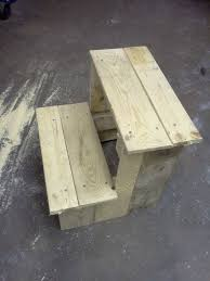 Step Stool Plans Designs Step Stool From A Pallet How To