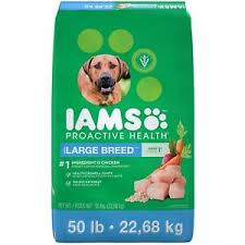 Iams Puppy Food Large Breed Feeding Chart Details About Iams Adult Proactive Health Large Breed Chicken Dry Dog Food 50 Lbs