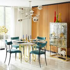 5 modern round dining room tables jonathan adler 5 modern round dining room