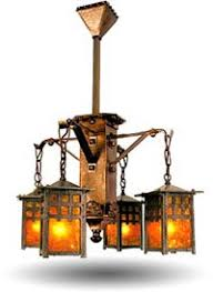 vintage looking lighting. arts and crafts or craftsman style lighting vintage looking 0