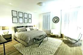How To Place An Area Rug In A Bedroom Rug Placement On Area Rug Enchanting Bedroom Rug Placement