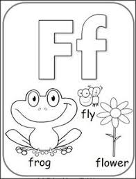 F Coloring Pages For Preschoolers 01 2 Color Cute Alphabet