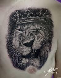 ухмылка льва в короне на груди добавлено кирилл самарин