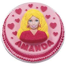Barbie Cake Birthday Cake Ideas Wilton