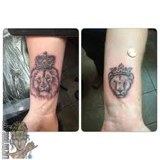 lioness with crown tattoo. Modren With Lioness With Crown Tattoo  Photo9 And With Crown Tattoo N