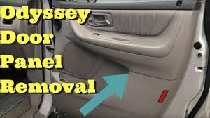 1999 2000 2001 2002 2003 2004 honda odyssey door panel removal how to remove trim