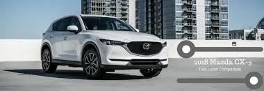 Mazda Cx 5 Trim Comparison Chart Compare The 3 Trim Levels Of The 2018 Mazda Cx 5
