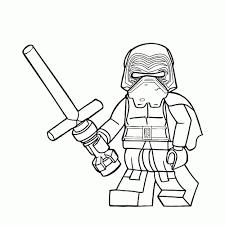 Goed Kleurplaat Star Wars Lego Kleurplaat 2019