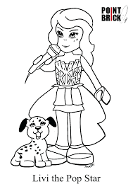 Lego Friends Coloring Pages To Print Trustbanksurinamecom