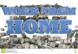 Work From Home Self Employment Stock Illustration Illustration