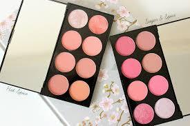 makeup revolution blush palettes hot e sugar e