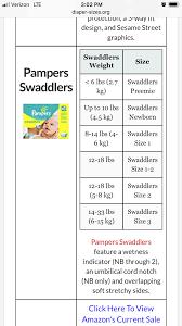 Pampers Diaper Size Chart India Bedowntowndaytona Com
