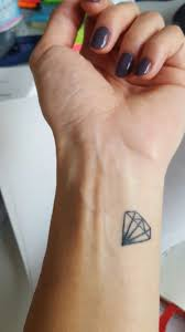 Small Diamond Tattoo Alyse Nichelle Small Diamond Tattoo