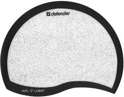 <b>Коврик</b> для компьютерной мыши <b>Defender Ergo opti</b>-<b>laser</b> черный ...