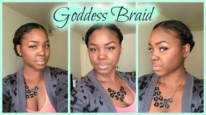 Goddess Hair Style protective stylegoddess braid relaxed hair youtube 1594 by wearticles.com