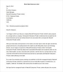 Business Letter Format Microsoft Word World Of Example