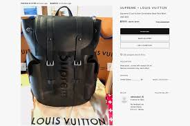 louis vuitton bags price. supreme x louis vuitton monogram jersey and hoodie bags price