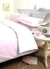 pink polka dots bedding duvet covers dot bed sheet white spot girls flannelette and cot