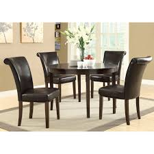 round espresso dining table popular round espresso dining table intended for brilliant design