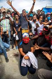 Haiti president pleads for help amid ...