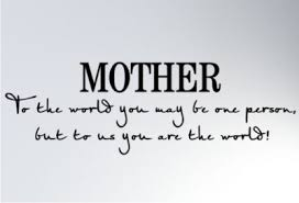 Greatest eleven brilliant quotes about mothers images German ... via Relatably.com