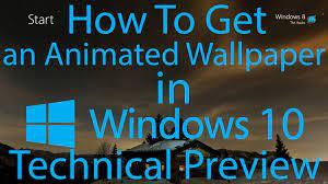 38+] Animated Wallpaper on Windows 10 ...