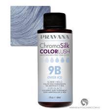 Pravana Chromasilk Colorlush 9b Over Ice Ammonia Free
