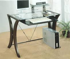 captivating target furniture desk desks for small spaces glass desk computer monitor keyboard mouse