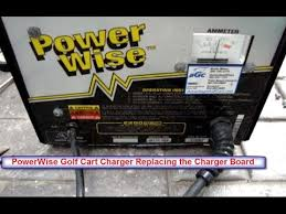 repair powerwise golf cart charger replacing charger board youtube powerwise charger 28115g04 at Powerwise Charger Schematics