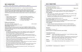 Sample Healthcare Professional Resume – Eukutak
