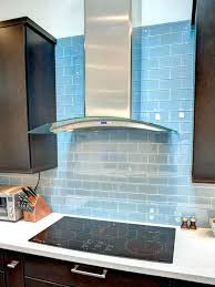 blue backsplash tile glass kitchen tiles for light subway
