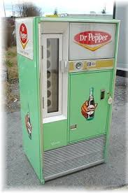 Best Soda Vending Machine Delectable Dr Pepper Vending Machine Restored 48s Square Top Soda Vending