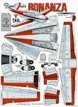 Выкройки самолета из бумаги