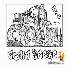 Tracteurs Coloriages Des Transports Page 2 Dans Coloriage De