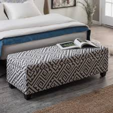 bedroom furniture benches. Bedroom Ottoman Bench Brilliant Exciting Furniture For Decoration Using Rectangular White Regarding 2 Benches E