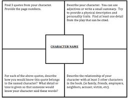 To Kill A Mockingbird Character Chart To Kill A Mockingbird Character Analysis Essay