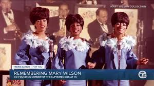 Fans are mourning the death of mary wilson. Dipraac51qwwlm