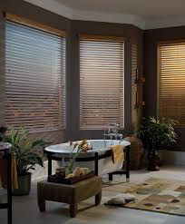 ... Window Blinds, Walmart Faux Wood Blinds Wood Blinds White Cool Dark  Grey Bathroom Theme With Wooden ...