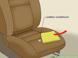 how to clean leather car seats 11 steps with pictures wikihow home remedy cleaning leather car seats