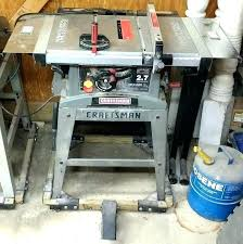table saw dust collection craftsman table craftsman table saw repair craftsman table saw dust collector bag