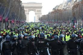 Imagini pentru paris magazine distruse