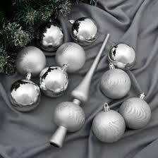 """<b>Набор шаров</b> пластик с <b>верхушкой</b> 21 шт """"Изгибы"""" (20 <b>шаров</b> ..."""