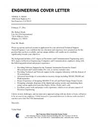 Cover Letter For Mechanical Engineering Job Mechanical Engineer